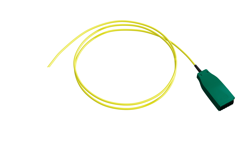 1 Stk H.D.S LWL-Trunkkabel/Pigtail, 12xE09/125 OS2, LCD/APC, 1,0m HDSL9MP01-