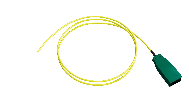 1 Stk H.D.S LWL-Trunkkabel/Pigtail, 12xE09/125 OS2, LCD/APC, 19,0m HDSL9MP19-