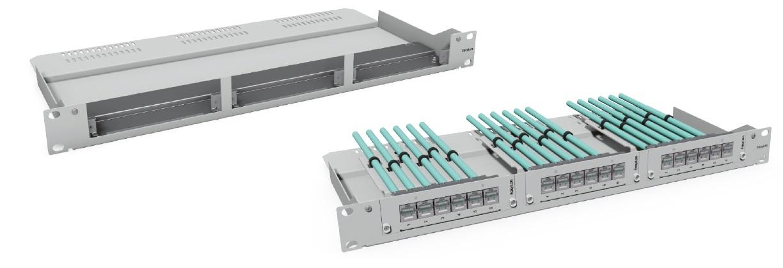 1 Stk Modulträger 19 1HE, 7TE für bis zu 3x Einschubmodule HEKB10703-