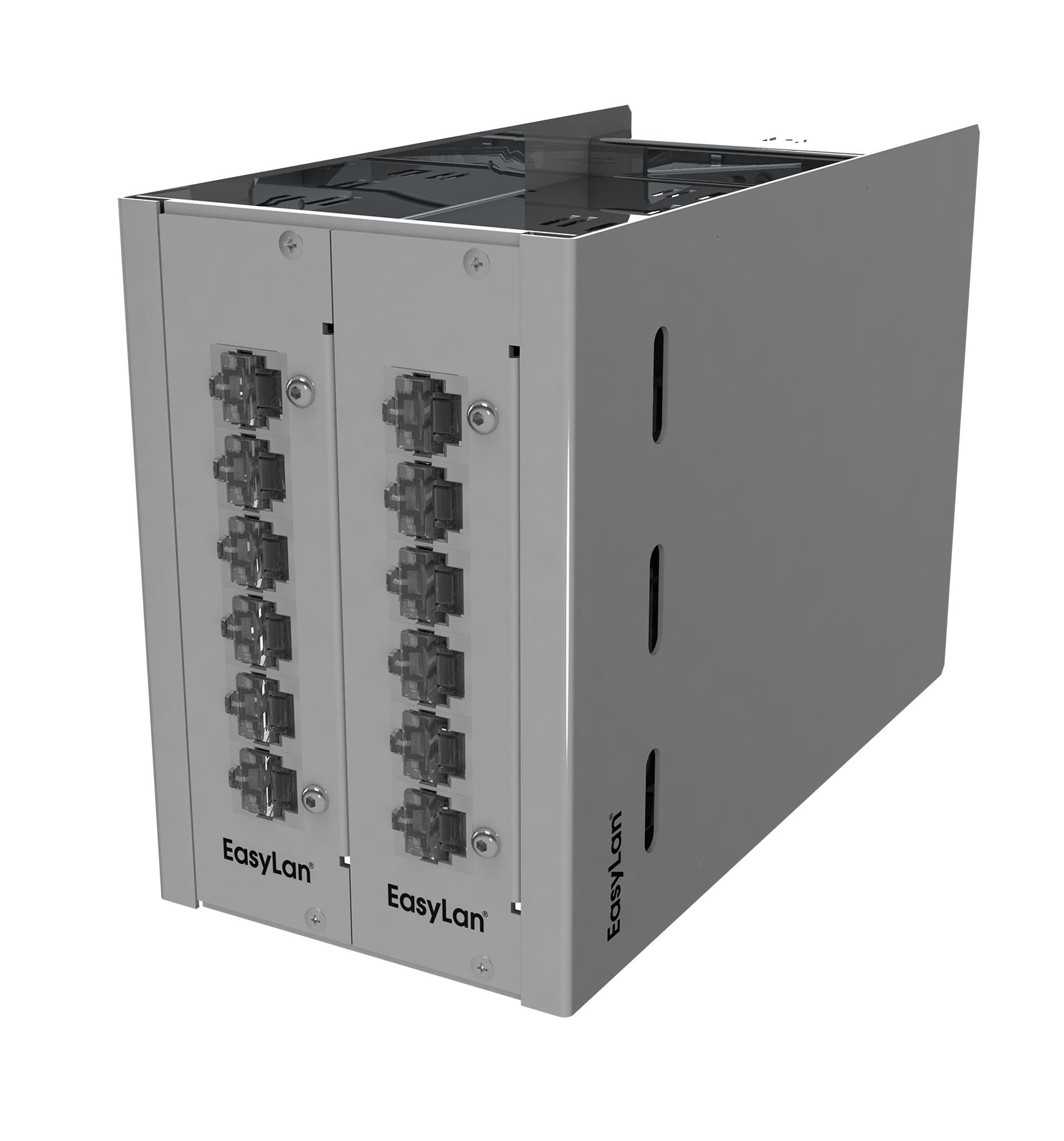 1 Stk Side Modulträger, 3HE 14TE für bis zu 2x Einschubmodule HEKB31402-