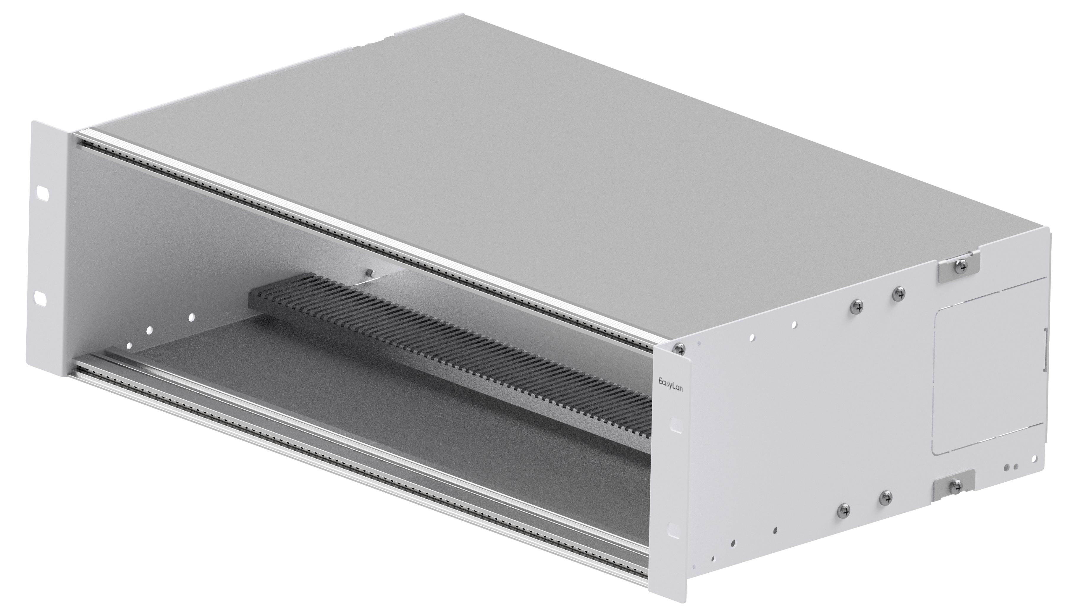 1 Stk Modulträger 19 3HE, 7TE für bis zu 12x Einschubmodule HEKB3712--