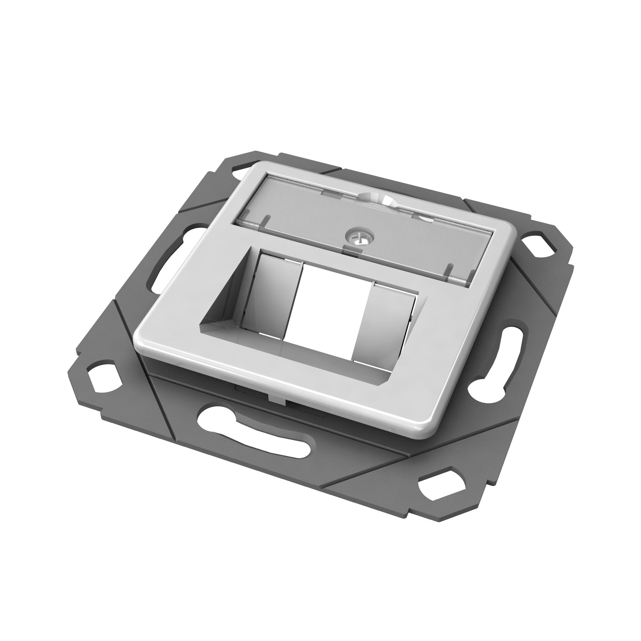 1 Stk preLink/fixLink designfähige Modulaufnahme SL 1-fach HEKFPD1WBV