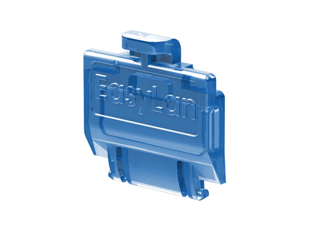 1 VE preLink/fixLink Staubschutzklappe Blau (transparent) 50 Stk. HEKFPZDCB-