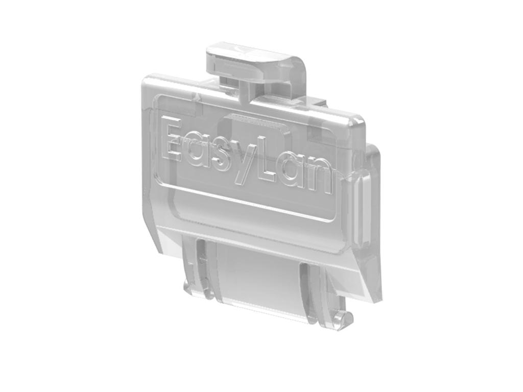 1 VE preLink/fixLink Staubschutzklappe Weiß (transparent) 50 Stk. HEKFPZDCW-