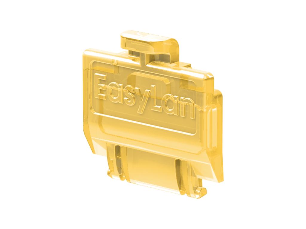 1 VE preLink/fixLink Staubschutzklappe Gelb (transparent) 50 Stk. HEKFPZDCY-