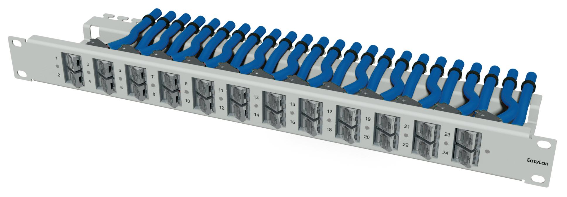 1 Stk preLink/fixLink Winkelpanel 1HE, 19, Variante 2 HEKR0240LL