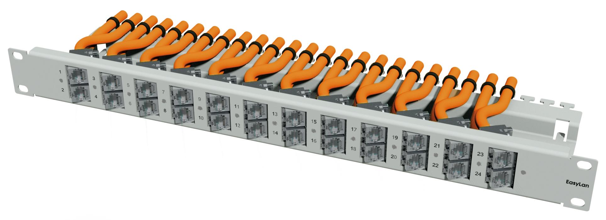 1 Stk preLink/fixLink Winkelpanel 1HE, 19, Variante 3 HEKR0240RR