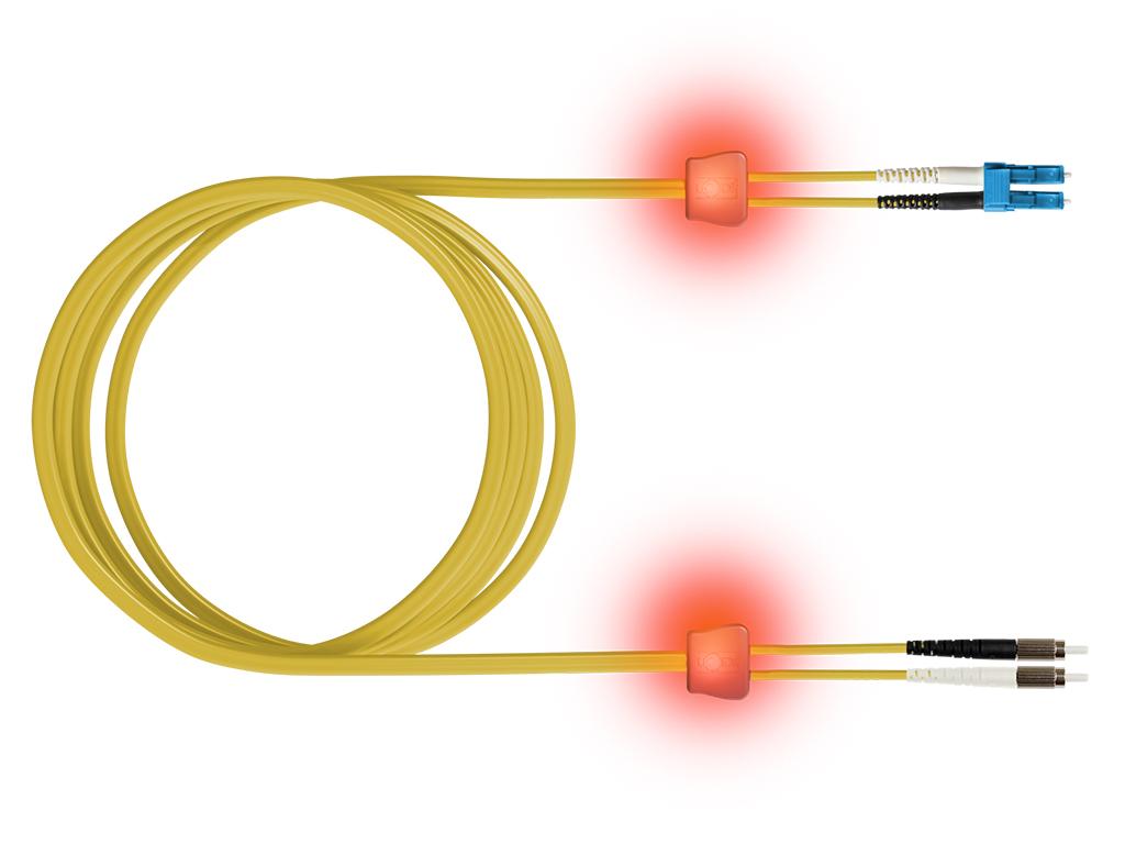 1 Stk LWL LED AR259:AR1050Premium, Simplex, LC/MU, E09/125 OS2 10m HEL29LZ01L