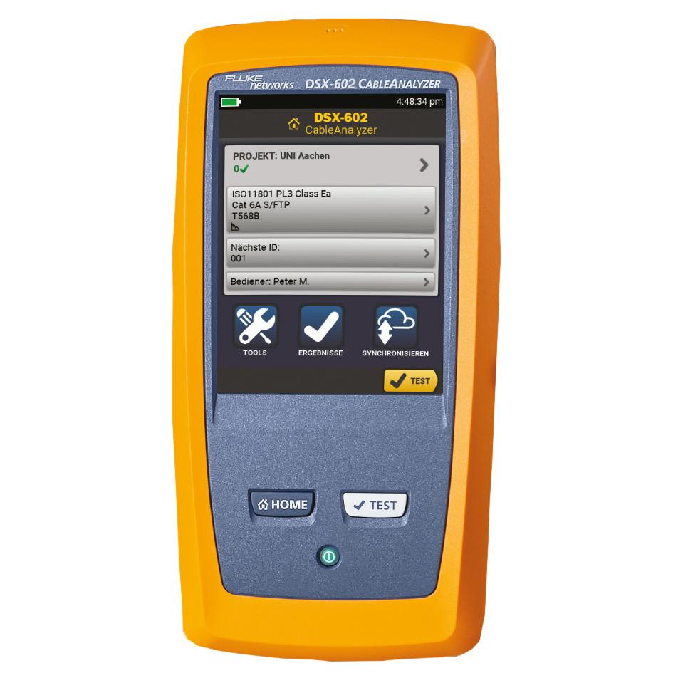 1 Stk Fluke Messgerät DSX-600-PRO INTL HFLUKE0004