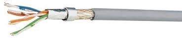 100 m Flexkabel SF/UTP 4x2xAWG26/7, Cat.5e, 200MHz, LS0H, grau HKF2SFUGH5