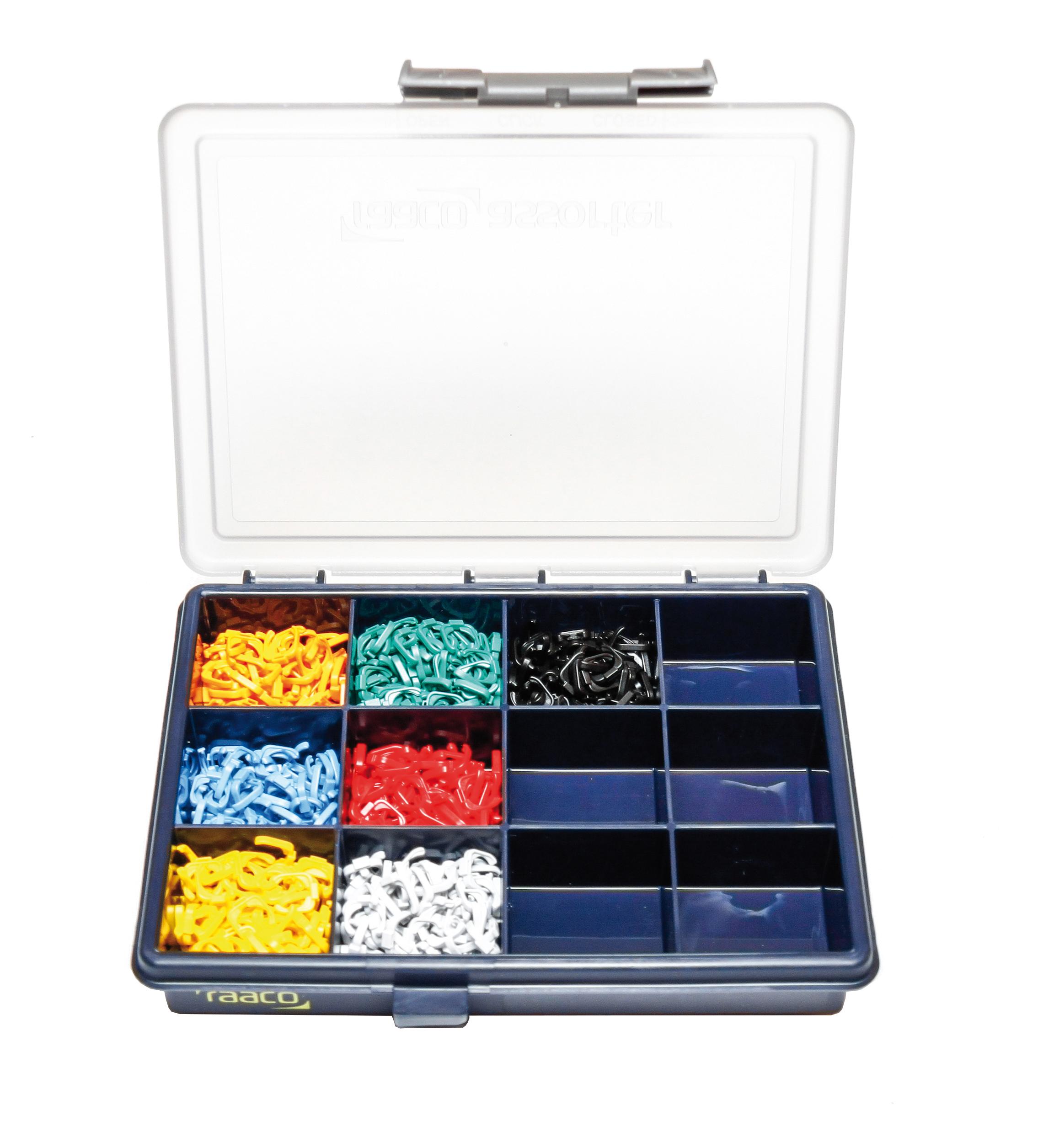 1 Stk Farbkodierung Sortimentsbox für DualBoot -, PushPull - HLEDCLIPBX