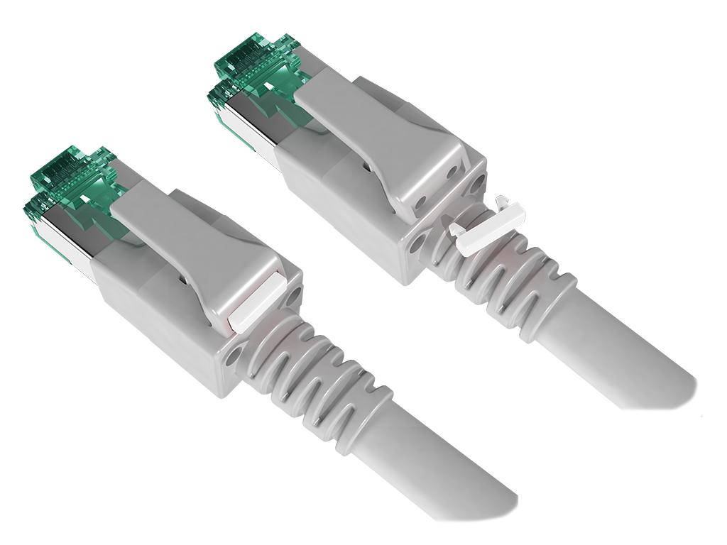1 VE Farbkodierung für DualBoot LED Patchkabel, weiß, 100 Stück HLEDCLIPW-