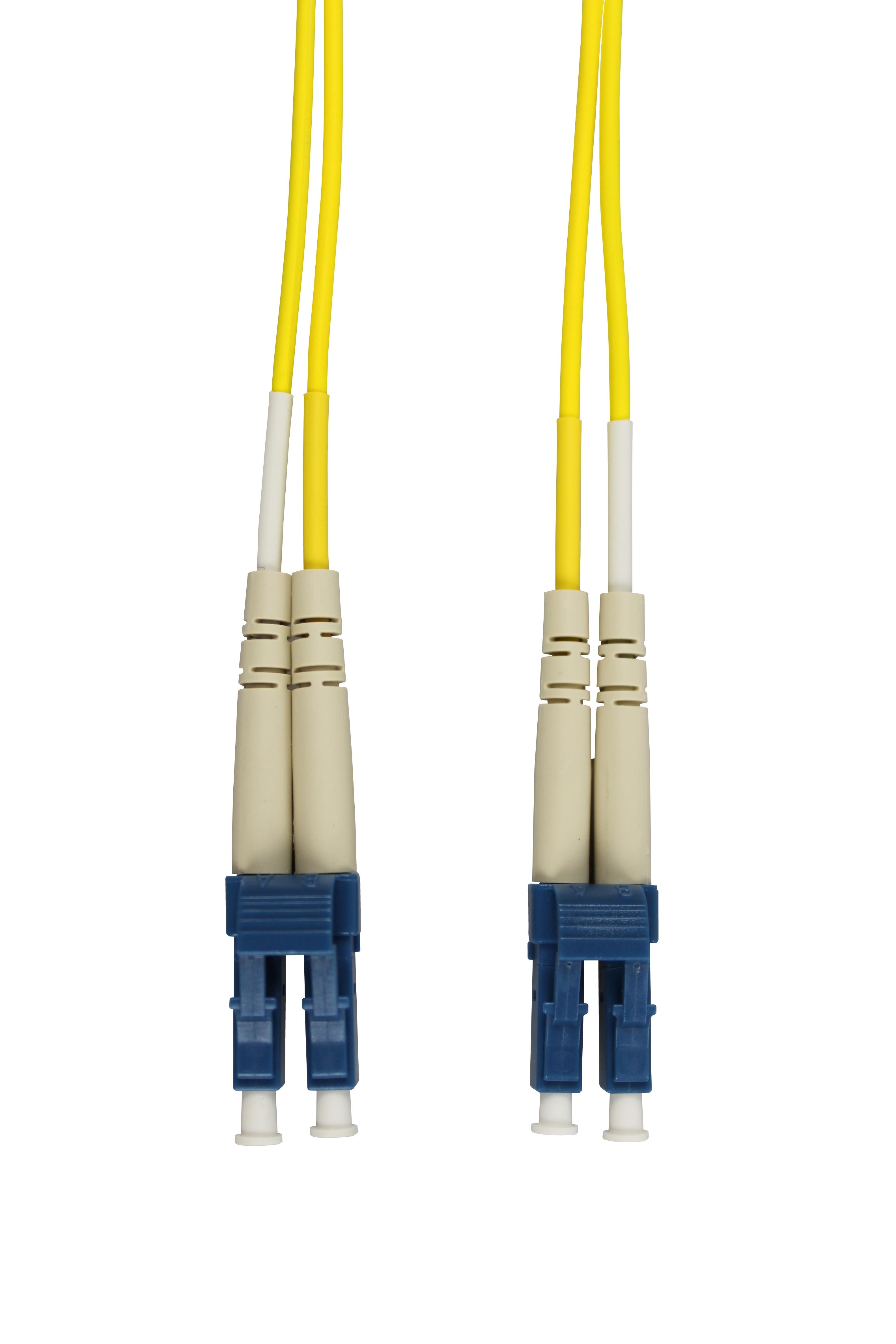 1 Stk LWL Patchkabel Duplex LC/LC, 9/125µm OS2, LS0H-3, gelb, 2.0m HLP29LL02F