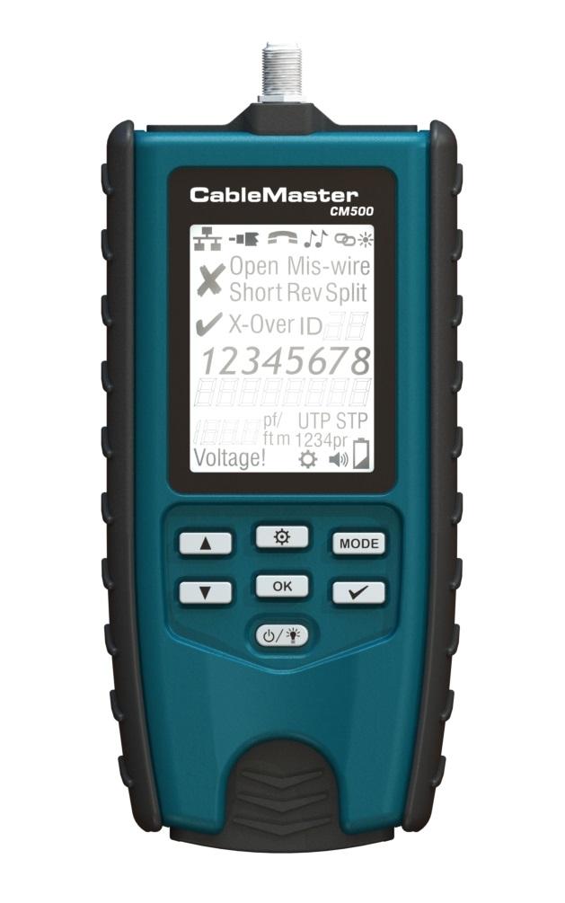 1 Stk CableMaster 500 Verdrahtungstester, Längenmessung HMSCM500--