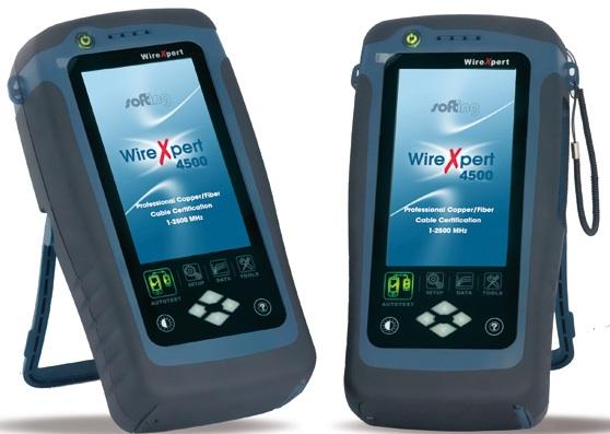 1 Stk WireXpert 4500 LAN Kupferkabel Zertifizierer HMSWX4500-