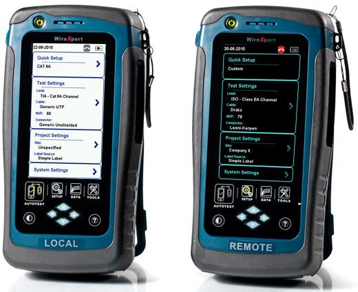 1 Stk WireXpert  500 LAN Kupferkabel Zertifizierer HMSWX500--