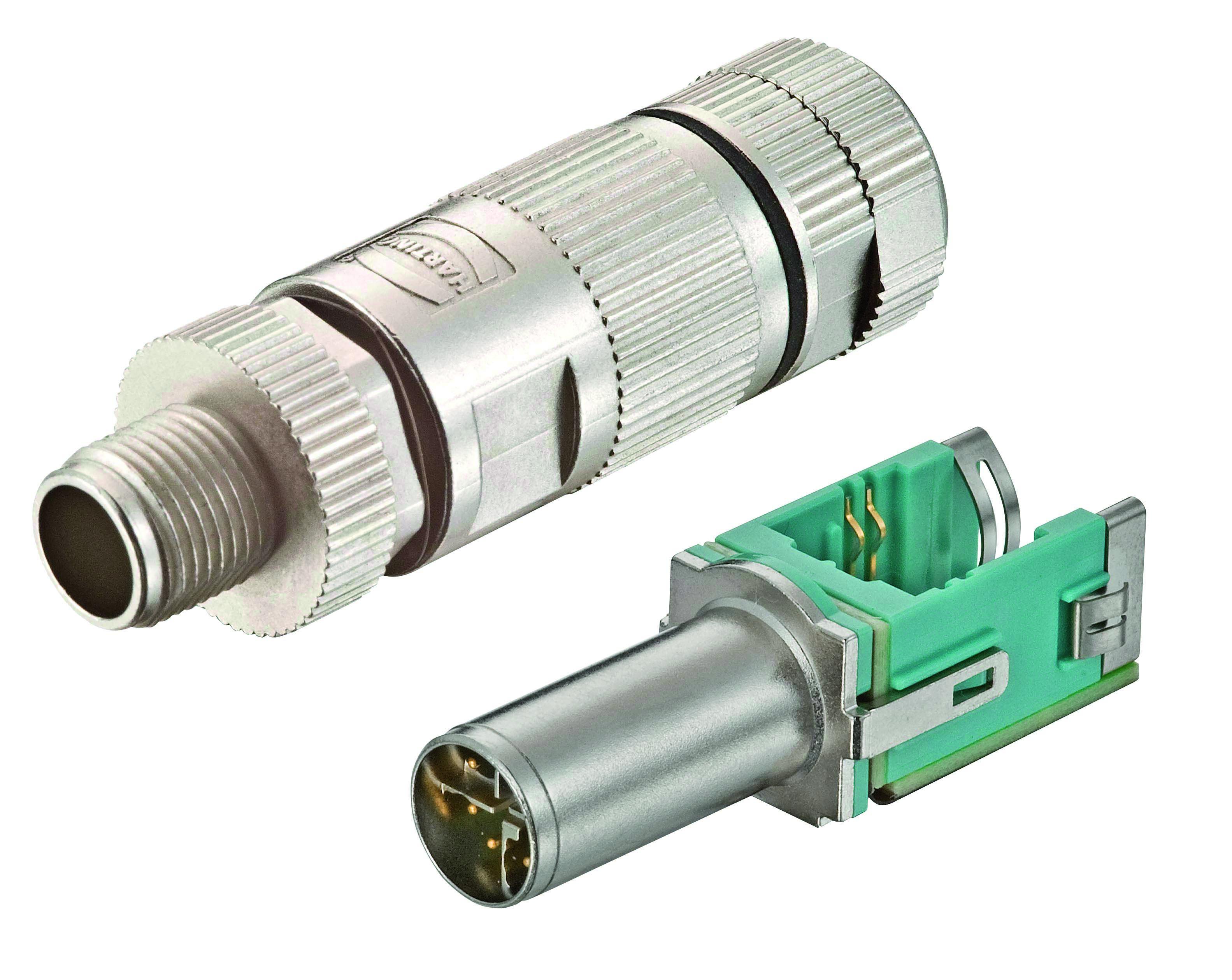1 Stk WireXpert - M12 X-coded Stecker für preLink® System Cat.6a HMSWXZC04-