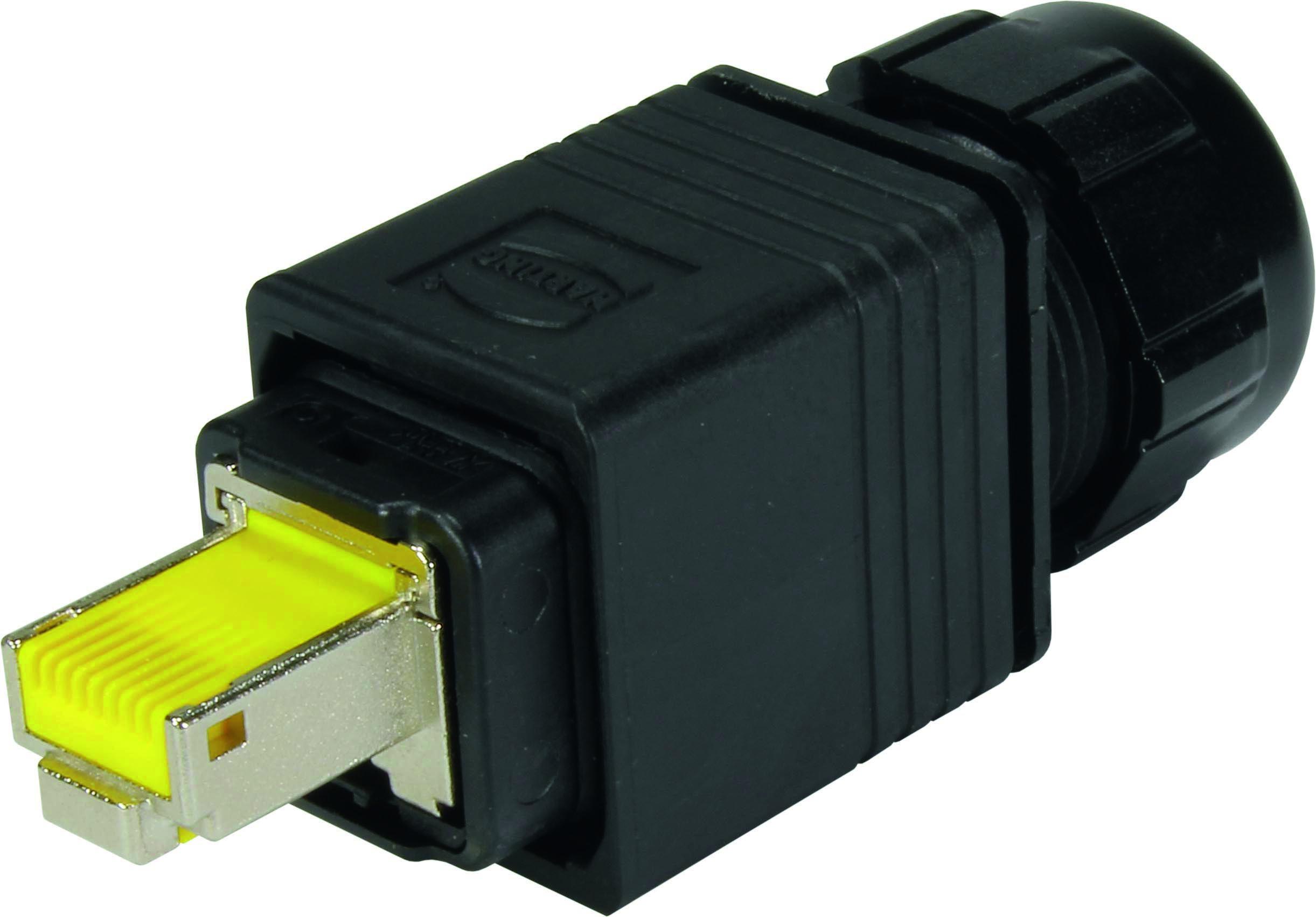 1 Stk WireXpert - RJ45 push-pull V14 Stecker für preLink® System HMSWXZC07-