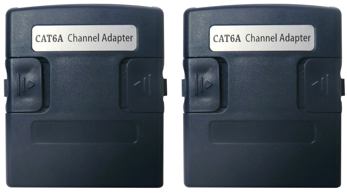 1 Stk WireXpert RJ45 Channel Mess-Adapter - Klasse Ea / Kat.6a HMSWXZCHA-