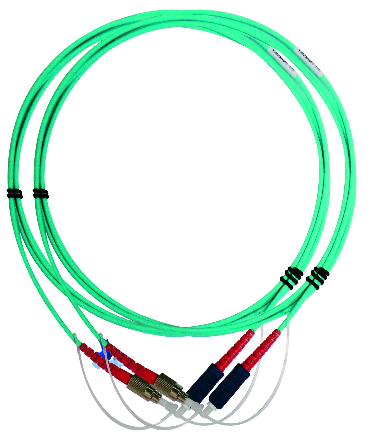 1 Stk WireXpert - Multimode Referenztestkabel 2xFC-SC und 2xSC-SC HMSWXZFMRC