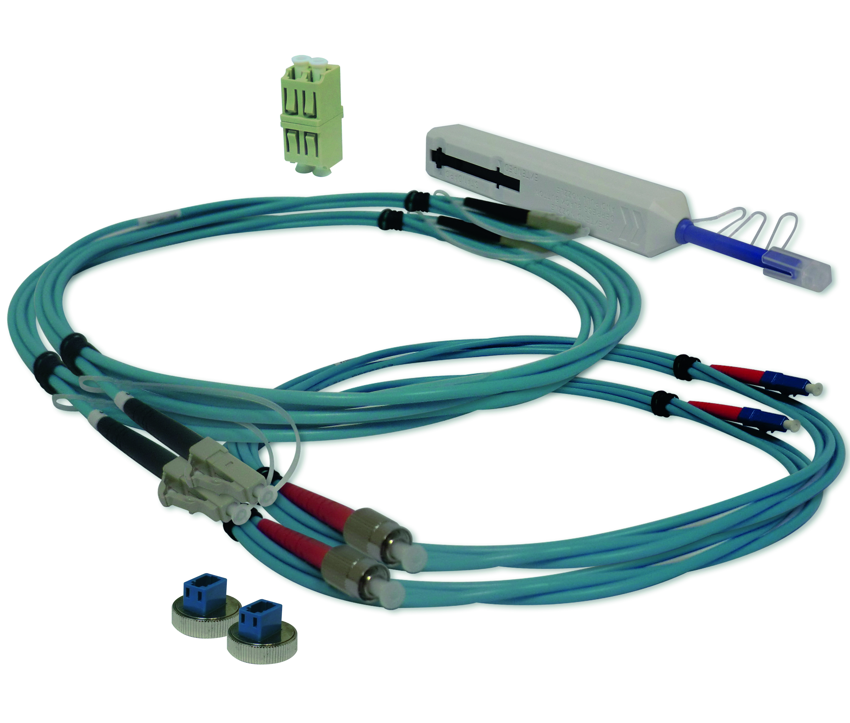 1 Stk WireXpert - LC Test-Kabel Kit, Multimode HMSWXZFMTC