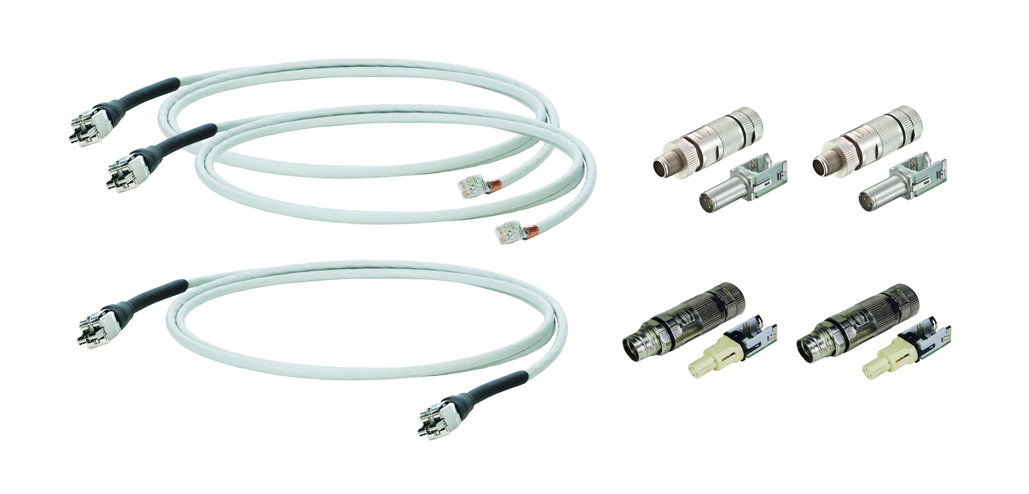 1 Stk WireXpert - Kabel Kit zum messen von M12 D-Coded Systemen HMSWXZKIT2