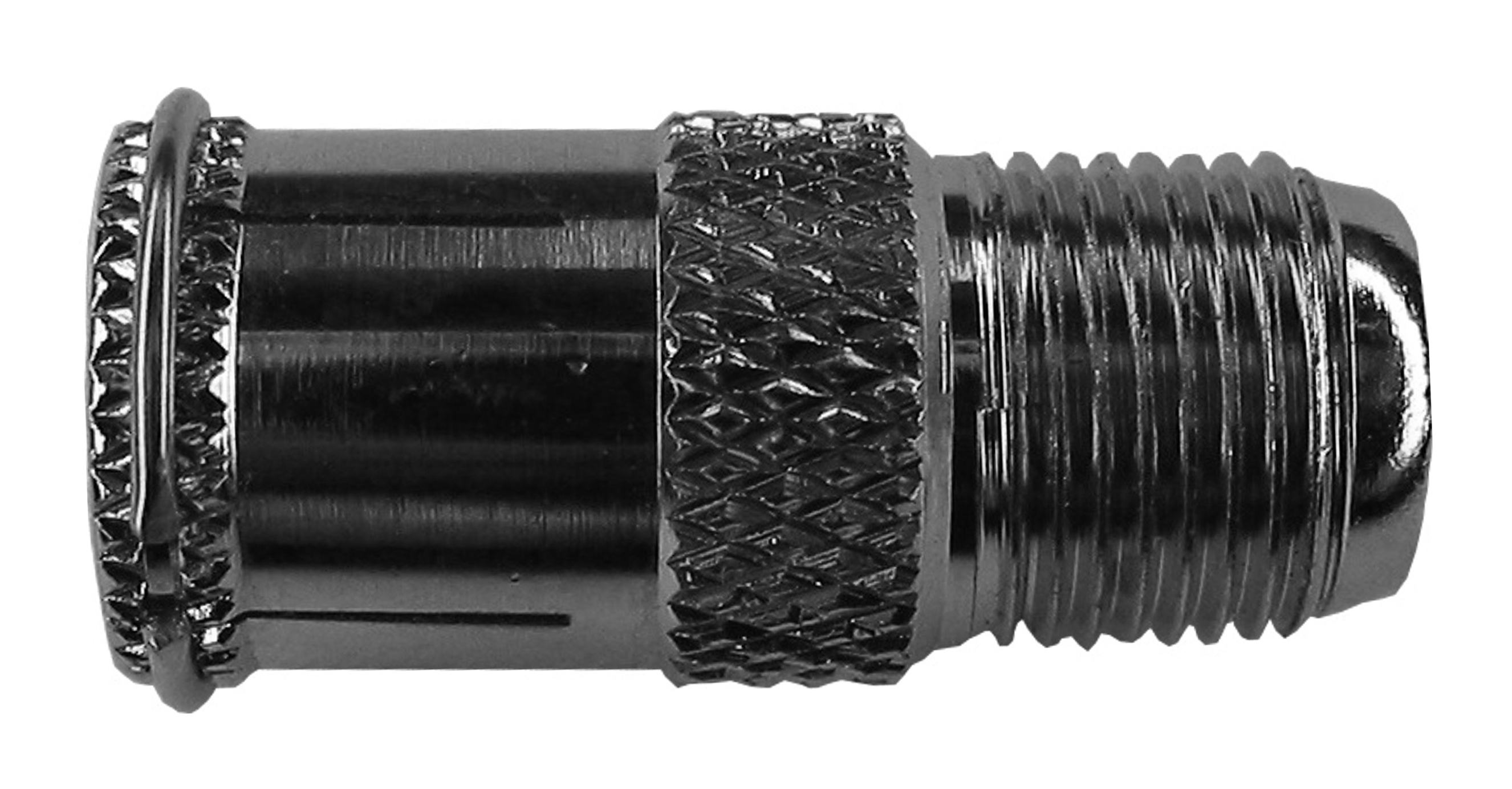 1 VE Koax Adapter F-Buchse auf F-Stecker Quick, 10 Stück HS4HFBFSQ-