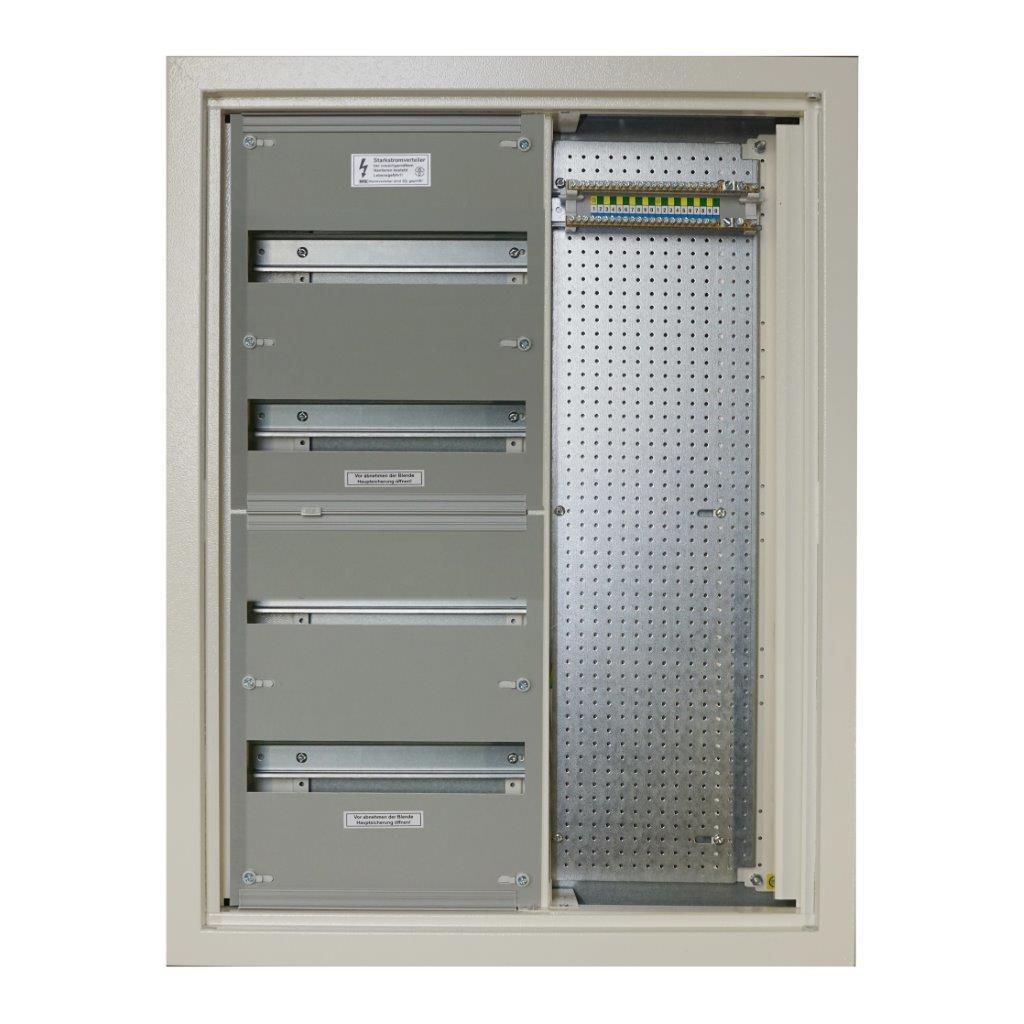 1 Stk Unterputz - Wohnungskombiverteiler, B595xH785xT116, RAL9010 HS4WKV0004