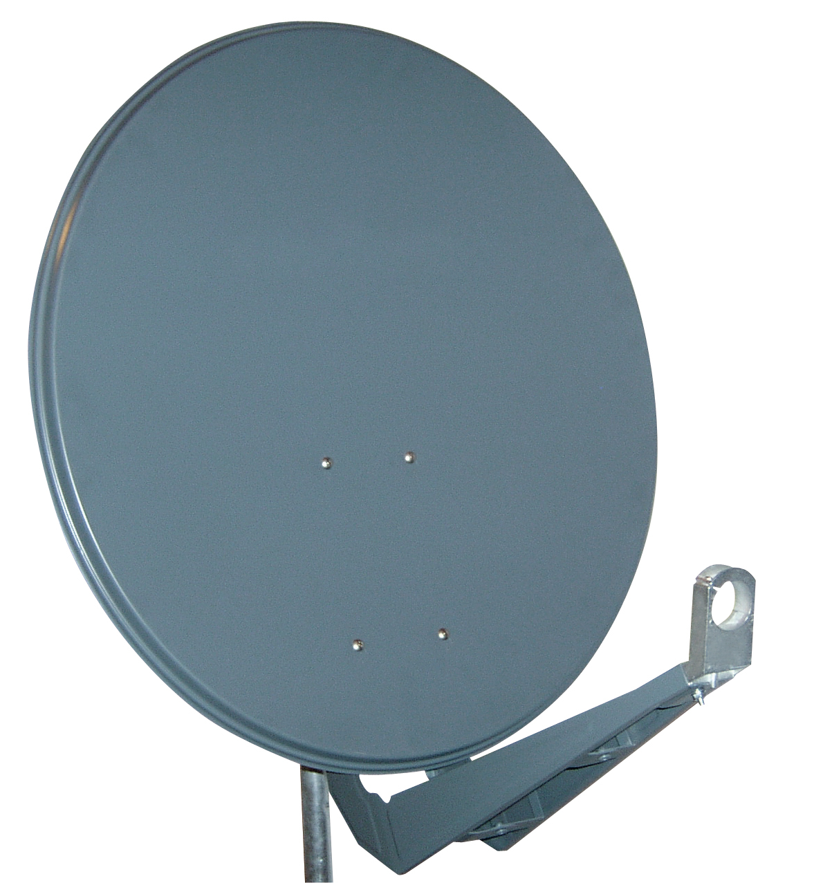 1 Stk SAT Antenne 100/95cm,Alu,>40dB Gain,Doppel Monoblok Arm,Anth HSATA100AA