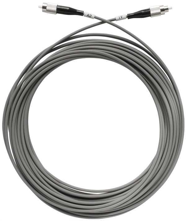 1 Stk SAT LWL-Patchkabel, FC/PC-Stecker, grau, 50m, OAK 50-01 HSATFKS050