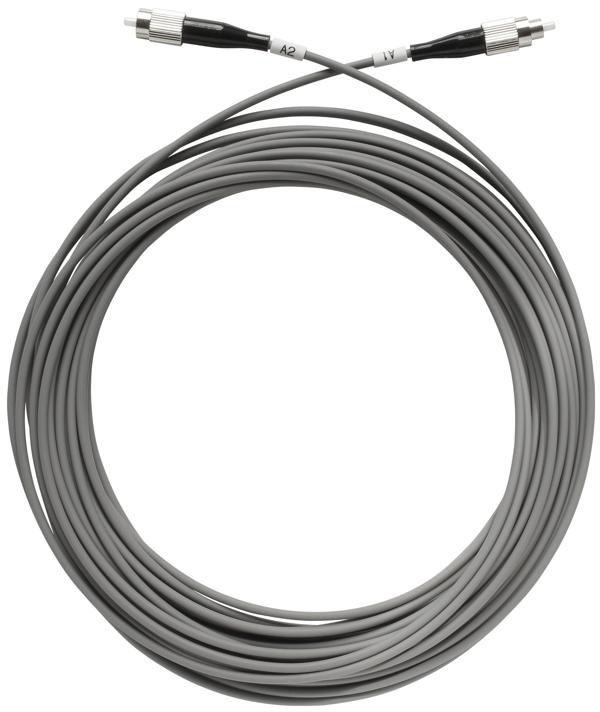 1 Stk SAT LWL-Patchkabel, FC/PC-Stecker, grau, 100m, OAK 100-01 HSATFKS100