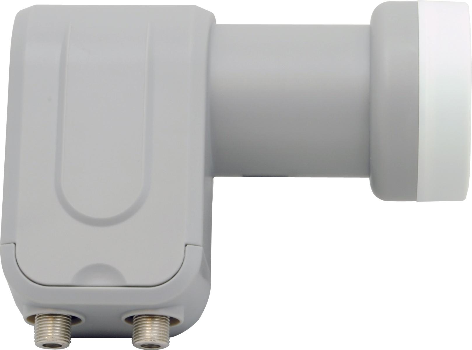 1 Stk SAT LNB Twin für den Anschluß von zwei Receivern, 40mm Hals HSATL2A---