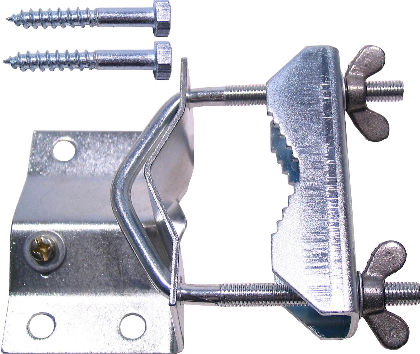1 Stk SAT Mastfuß für Mastdurchmesser bis 60mm, Stahl verzinkt HSATMF60S-