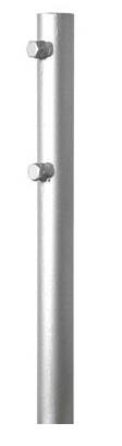 1 Stk SAT Mast, Länge=2000mm, DM=50mm, 1,5mm Stahl feuerverzinkt HSATMM20S-
