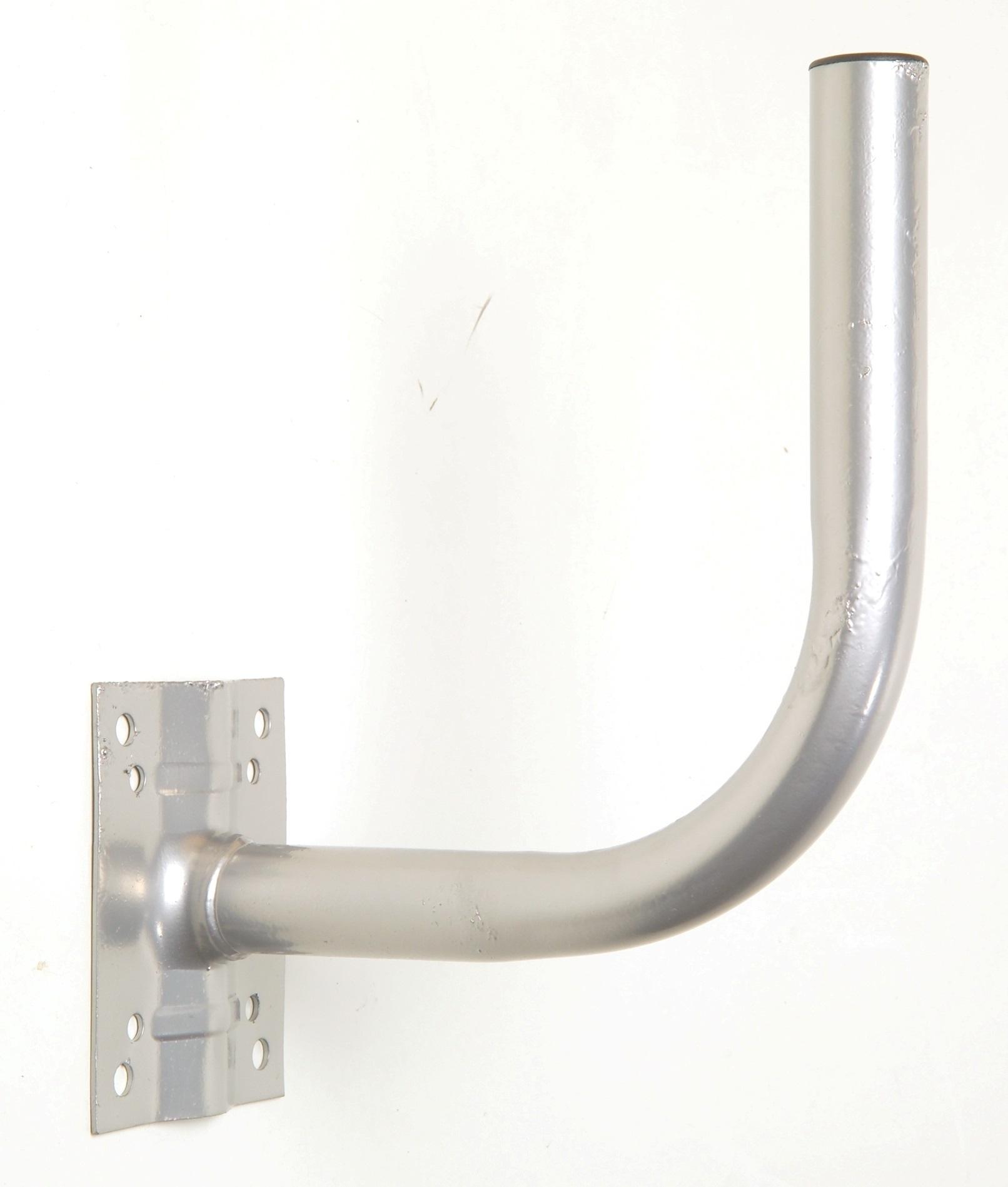 1 Stk SAT Wandhalter,Wandabst.=460,H=270,DM=40mm,Stahl feuerverzin HSATMW46S-