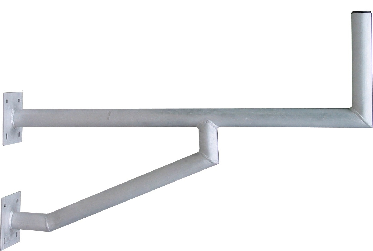 1 Stk SAT Wandhalter,Wandabst.=970mm,H=250mm,2x175x175,DM=50mm,Alu HSATMW97A-