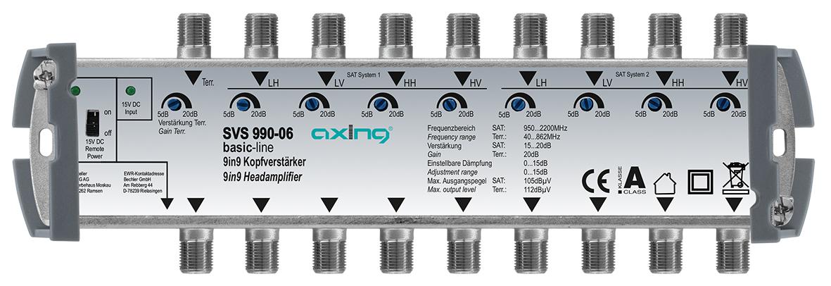 1 Stk Kopfverstärker, 9 in 9, SVS 990-06 HSATSV0996