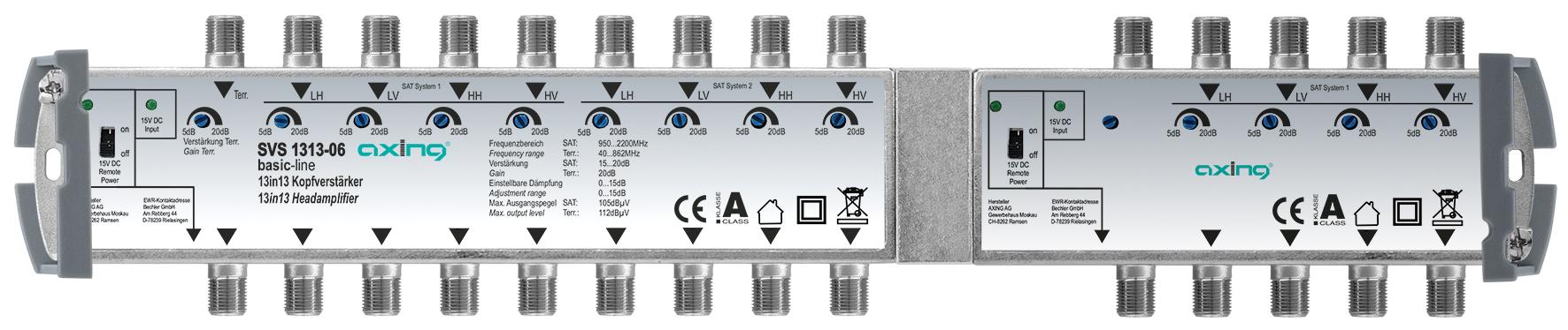 1 Stk Kopfverstärker, 13 in 13, SVS 1313-06 HSATSV1336