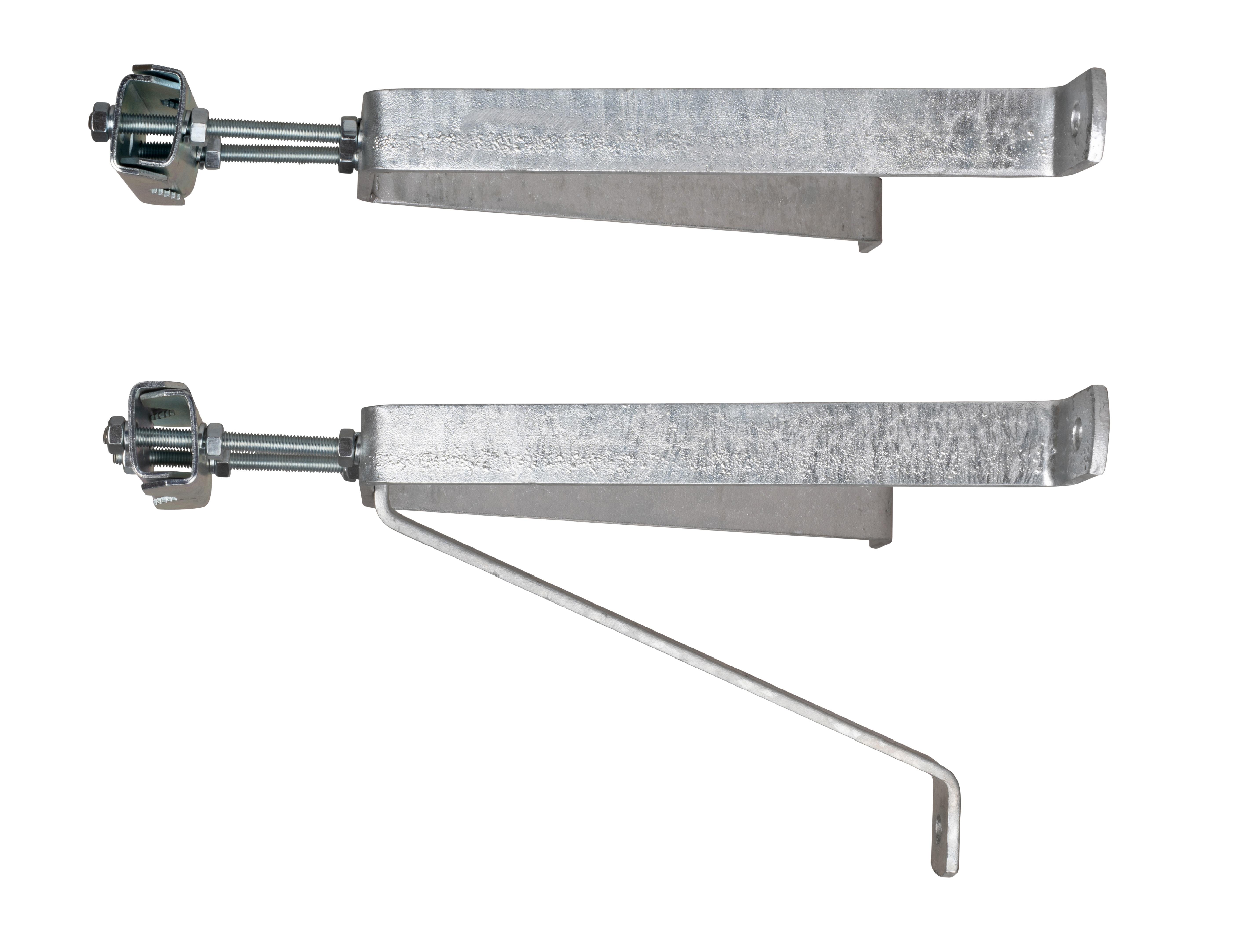 1 Stk SAT Mastbügel Garnitur 30cm, Mastrohre D=38mm-60mm, Stahl HSATWT30S-