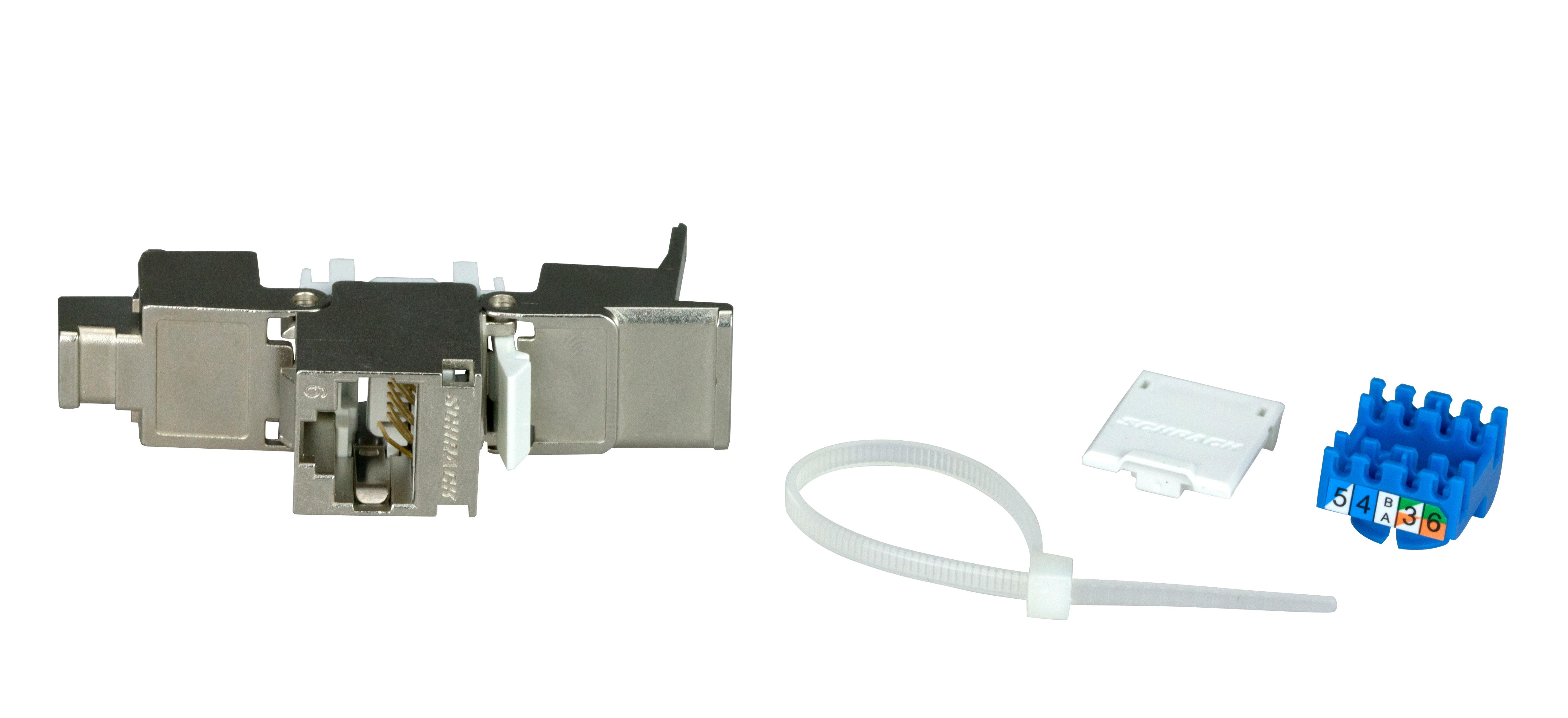 1 Stk TOOLLESS LINE Buchse RJ45 geschirmt Cat.6 (SFB) HSEMRJ6GBS