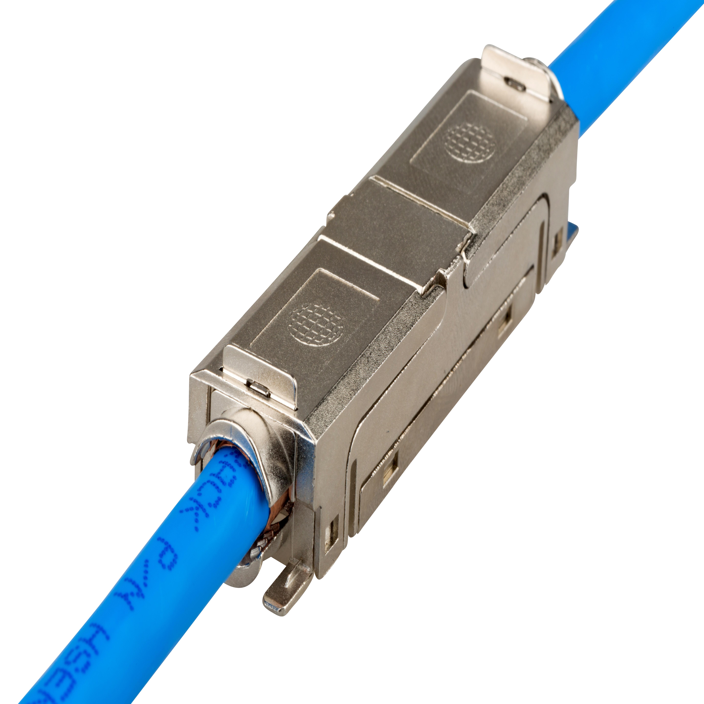 1 Stk QUICK CONNECT LINE Kupplung / Verlängerung geschirmt Cat.6a HSLKG-----