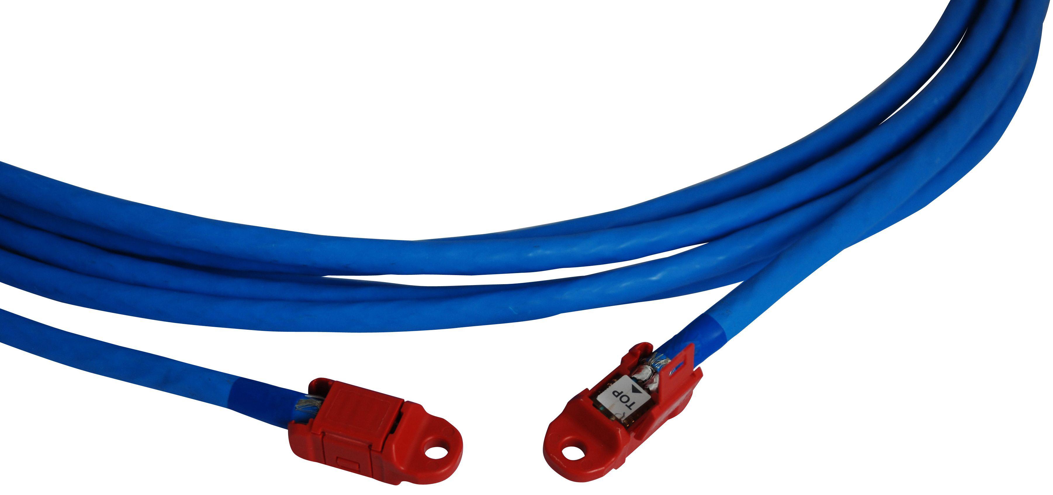 1 Stk Vorkonfektioniertes Installationskabel, Cat.7/AWG23, 40m HSLVI7G40-