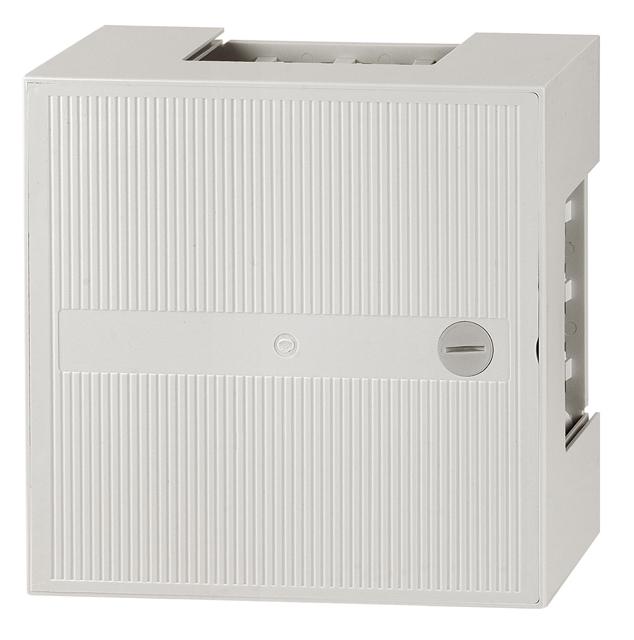 1 Stk Telefon Kunstoffverteiler Box II, 5 Leisten 50DA, Schloss HSTMBOX2L-