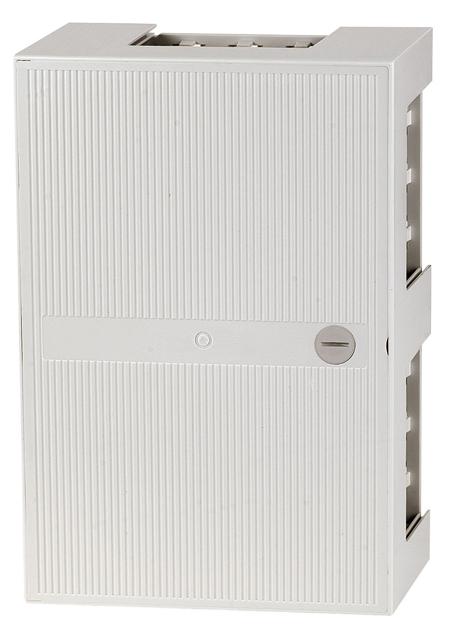 1 Stk Telefon Kunstoffverteiler,Box III,10 Leisten 100DA,Schloss HSTMBOX3L-