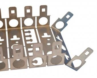1 Stk Telefon Montagebügel zur Aufnahme von10 LSA-Leisten,T=50mm HSTMON510-