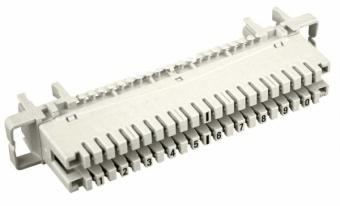 1 Stk Telefon LSA Trennleiste 2/10 10 DA für Montagebügel HSTMTREN0-