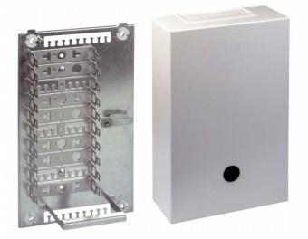 1 Stk Telefon Stahlblechverteiler VKA2, 100DA, Montagebügel HSTMVKA02-
