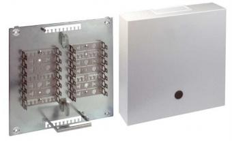 1 Stk Telefon Stahlblechverteiler VKA4, 140DA, Montagebügel HSTMVKA04-