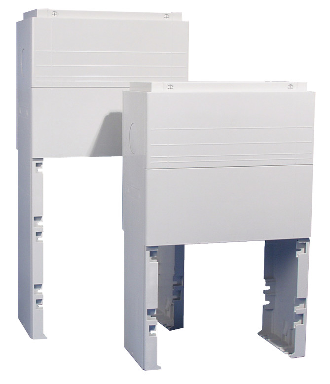 1 Stk Eingrabsockel Polyester Gräße 2X , RAL7035 IG008214--