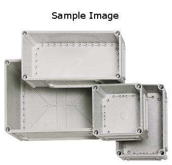 1 Stk Deckel 190x190x30mm, transparent mit Kreuzkopfschraube IG700011--